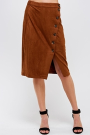 HYFVE Vegan Suede Skirt - Product Mini Image