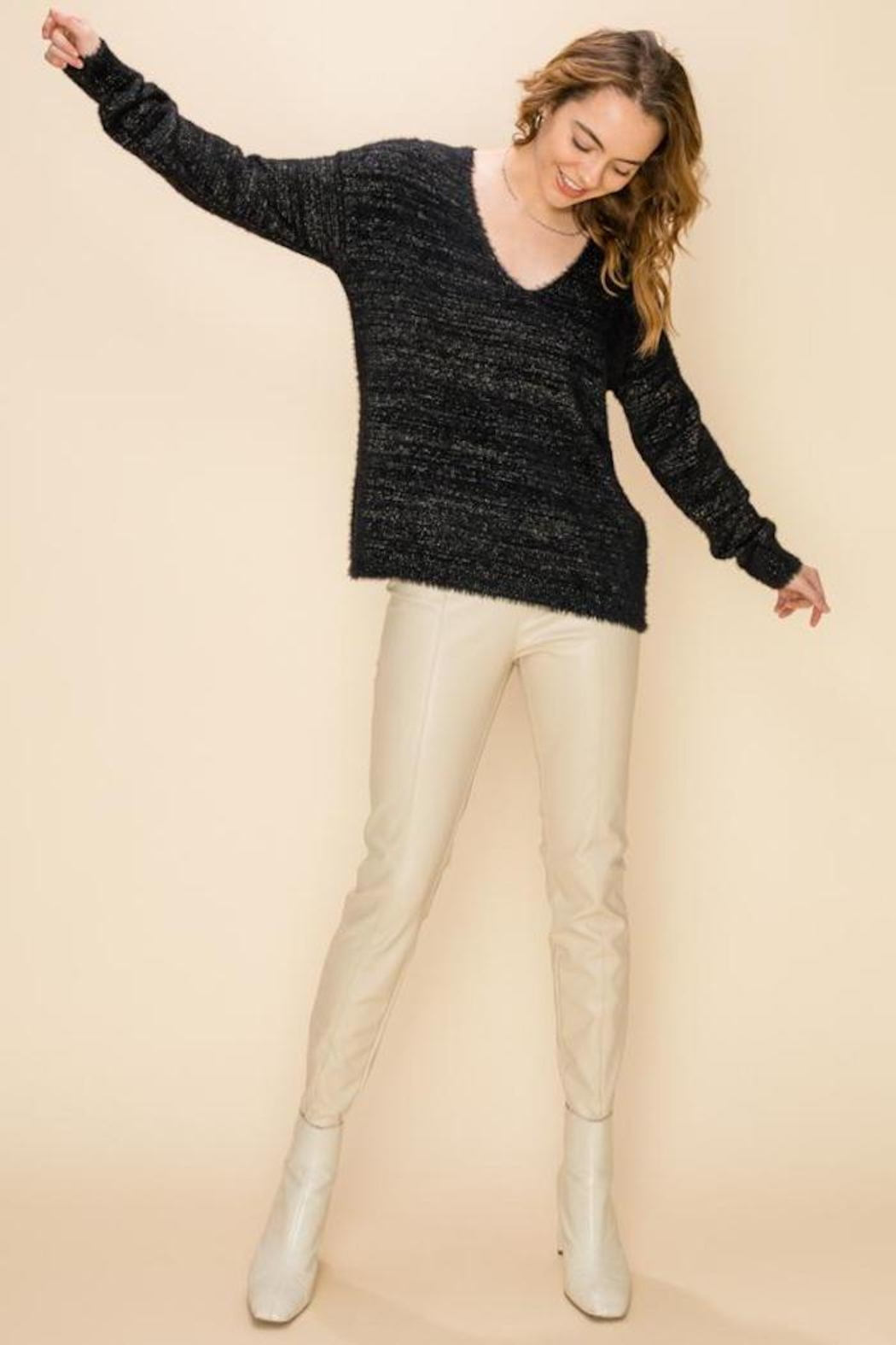 HYFVE Victory Sweater - Front Cropped Image