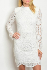 HYFVE White Icon Dress - Front cropped