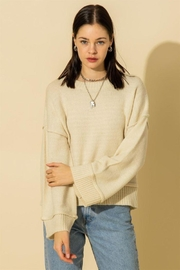 HYFVE Wide Sleeve Pullover Sweater - Front cropped