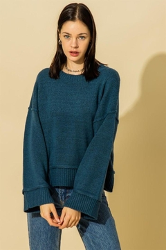 HYFVE Wide Sleeve Pullover Sweater - Product List Image