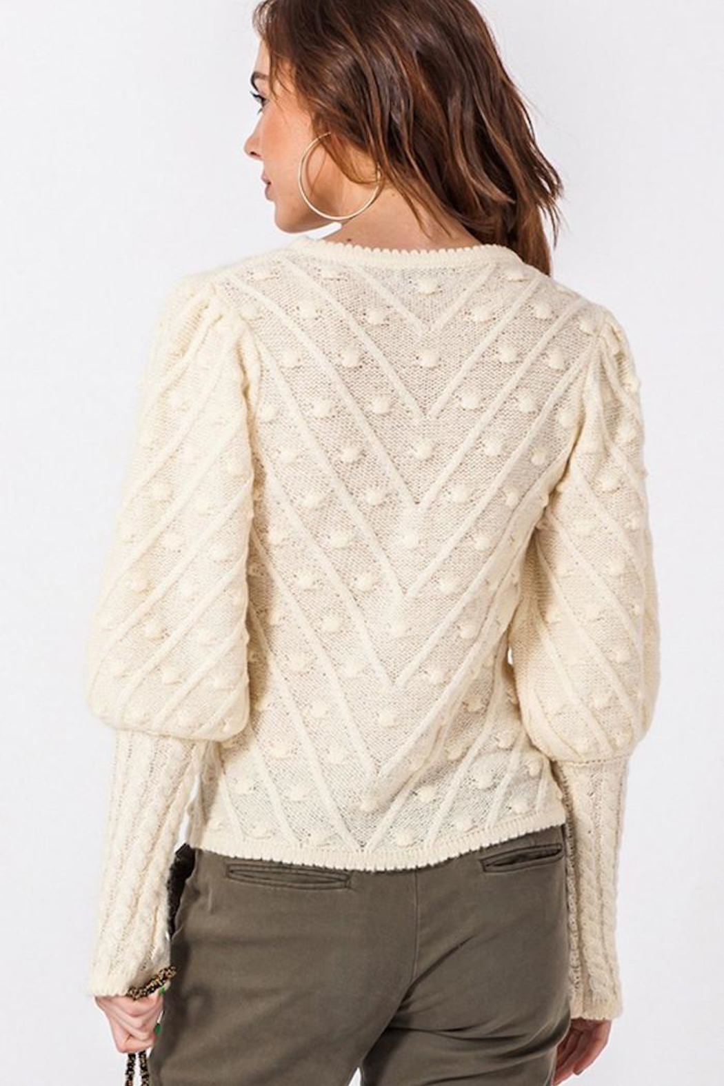 HYFVE Winter Nights Sweater - Back Cropped Image