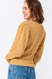 HYFVE Winter Nights Sweater - Back cropped