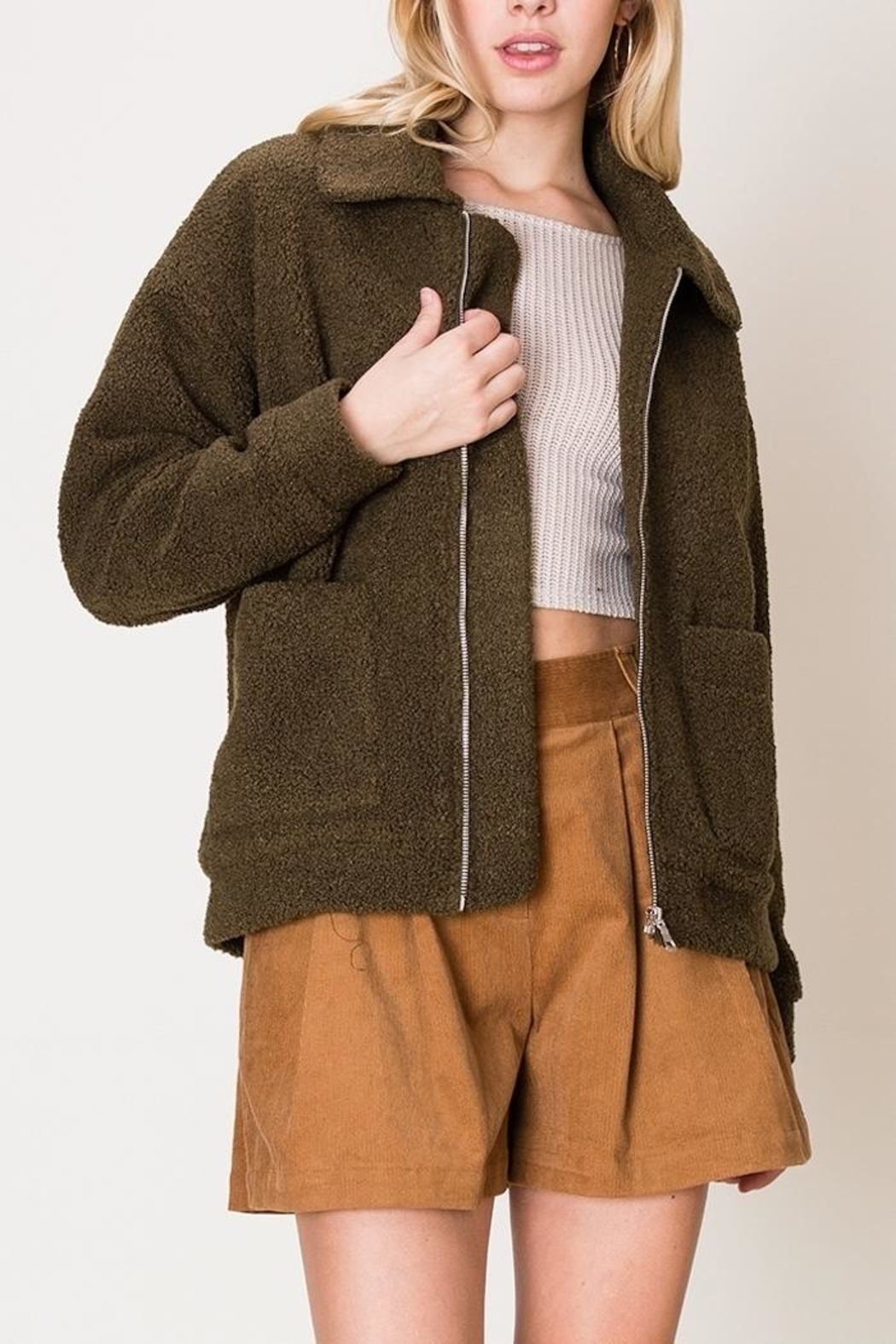 HYFVE Zach Zip-Up - Front Cropped Image