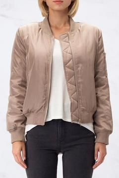 Shoptiques Product: Zipper Bomber Jacket