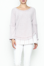 Hyku Knit Layered Top - Product Mini Image