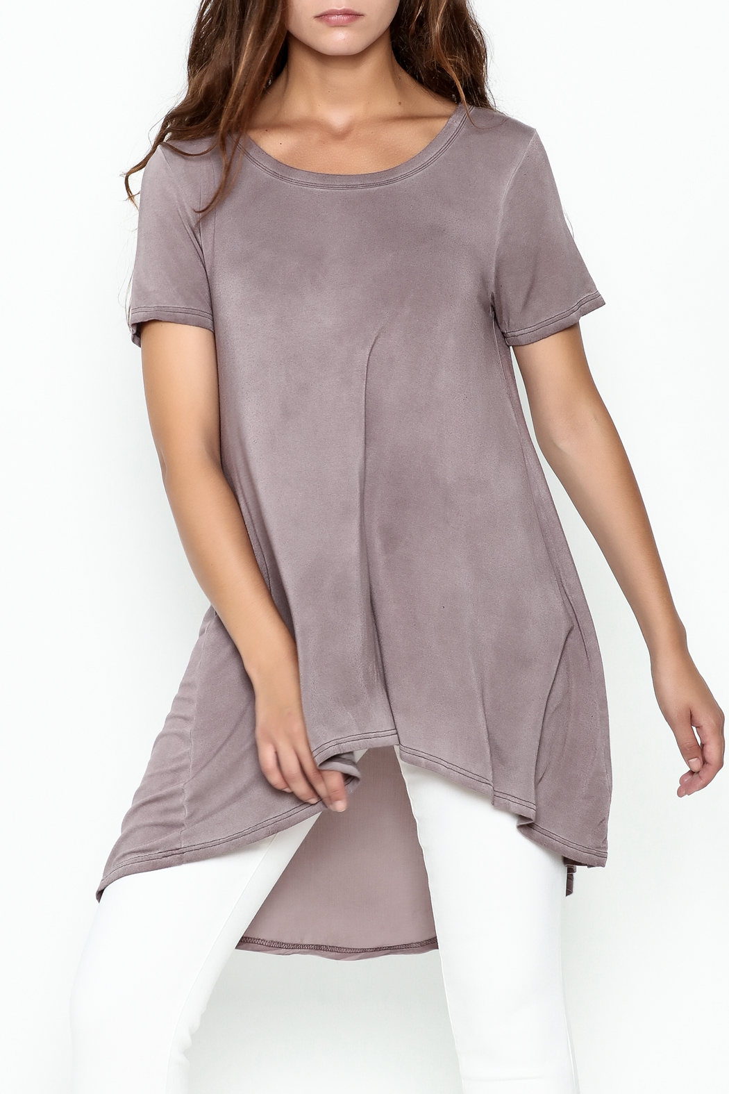 Hyku Tunic Length Top - Front Cropped Image