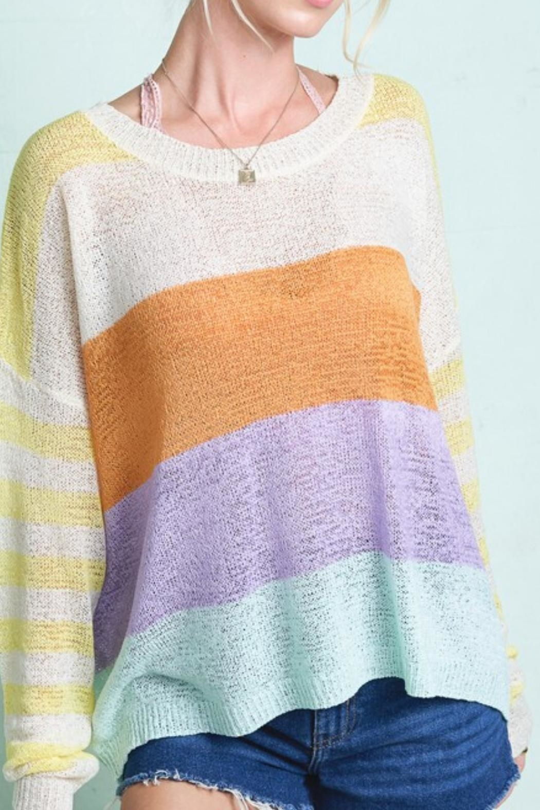 Hyped Unicorn Lite Pastel Sweater - Main Image