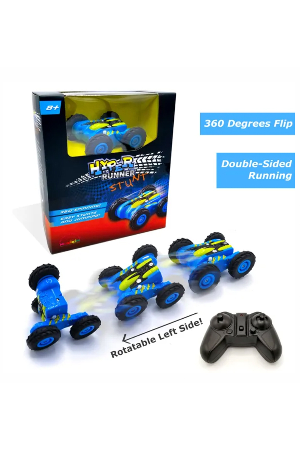 Mukikim Hyper Runner Stunt Remote Control Car - Front Cropped Image