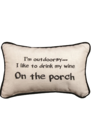 Manuel woodworkers and weavers I am Outdoorsy Pillow - Product Mini Image