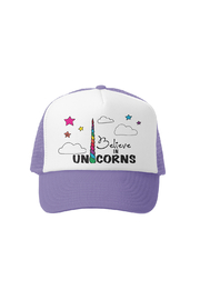 Grom Squad I Believe In Unicorns Trucker Hat - Product Mini Image