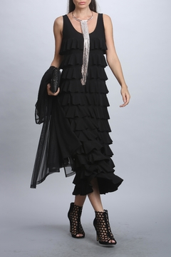 I.C. Collection Multi Layered Dress - Product List Image