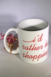 Moon and Lola I'd-Rather-Be-Shopping Mug - Product Mini Image