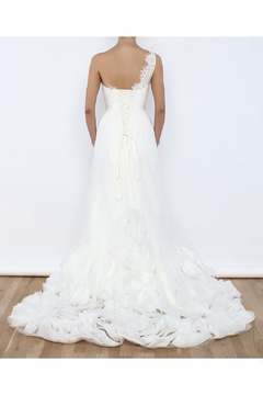 Shoptiques Product: Ruffle A-Line Gown