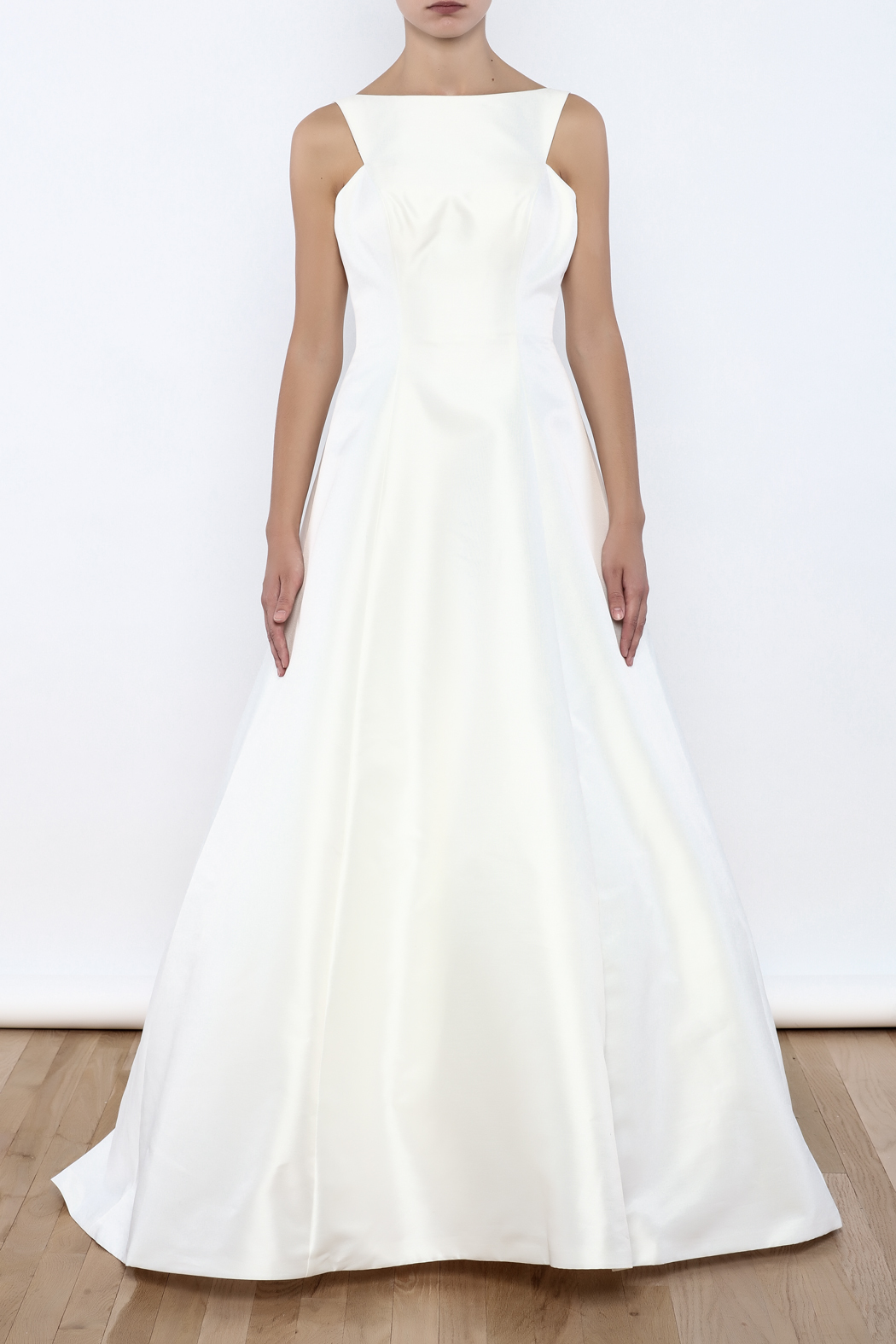I do wedding dress satin a line gown from massachusetts by for Wedding dress shops in ma