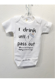 Hank's Bunkhouse I drink Onesie - Front cropped