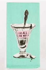 Blue Q I Go All The Way Dish Towel - Product Mini Image