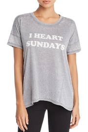 PJ Salvage I-Heart Sundays Tee - Product Mini Image