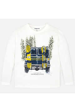 Mayoral I Just Want To Snowboard Long Sleeve Shirt - Product List Image