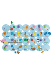 Janod I-Learn-The-Alphabet Puzzle - Front full body