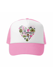 Grom Squad I Love Camping Trucker Hat - Product Mini Image