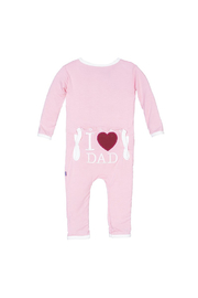 Kickee Pants I Love Dad Coverall - Product Mini Image