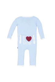 Kickee Pants I Love Mom Coverall - Product Mini Image