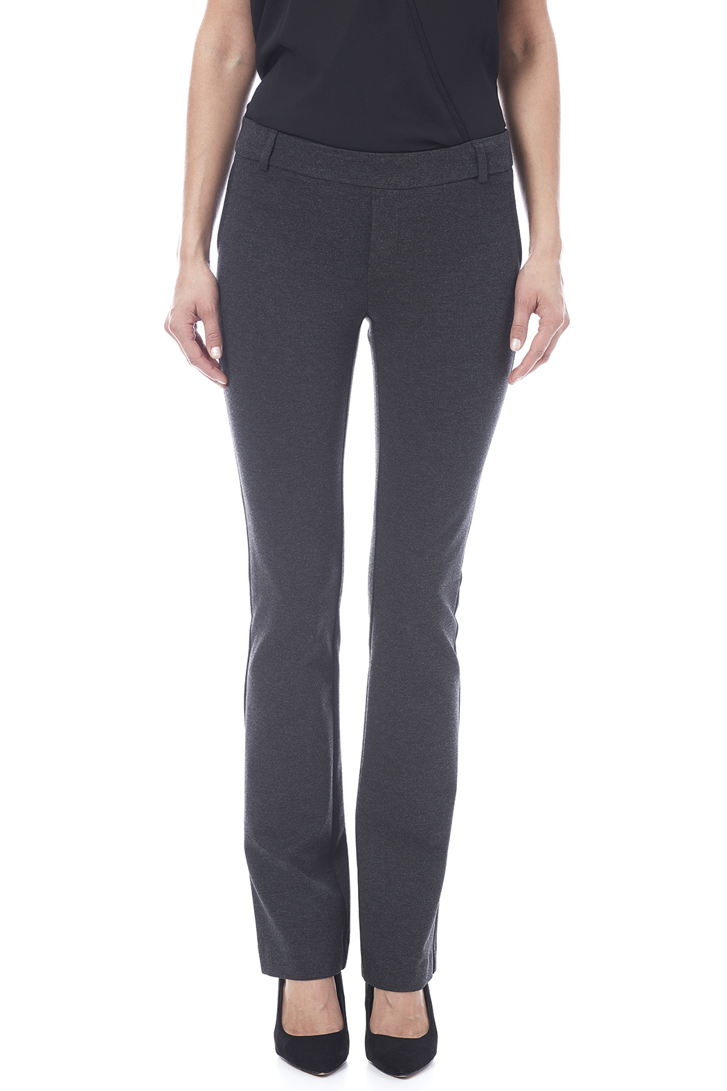 I Love Tyler Madison Charcoal Trouser Pant - Side Cropped Image