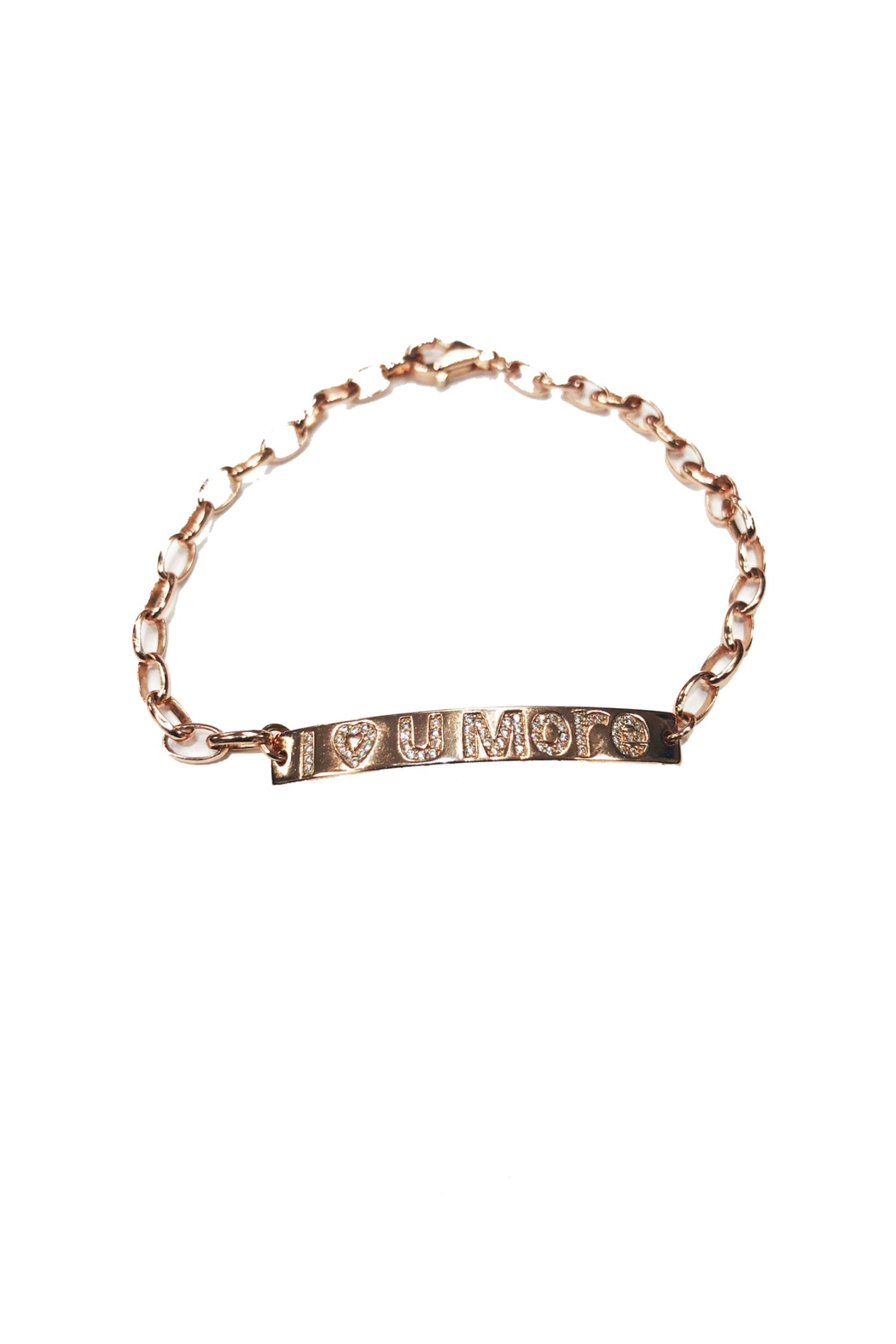 Lets Accessorize I-Love-You-More Bracelet - Front Cropped Image