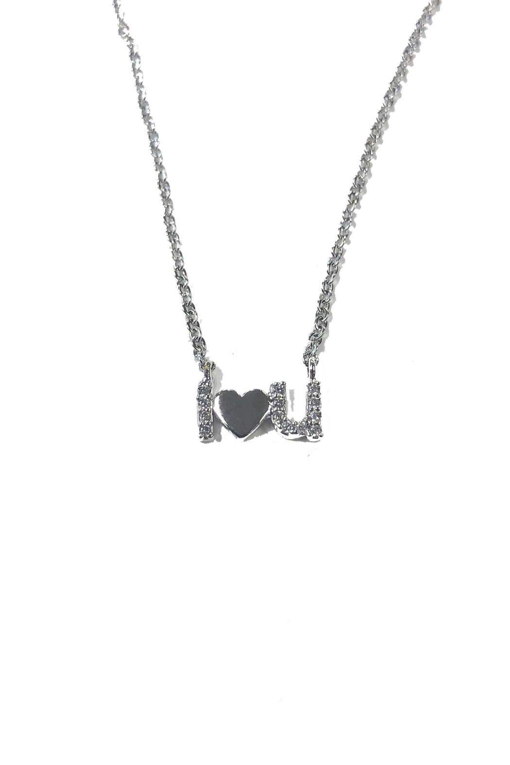 Lets Accessorize I-Love-You Necklace - Main Image