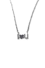 Lets Accessorize I-Love-You Necklace - Product Mini Image