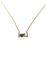 Lets Accessorize I-Love-You Necklace - Front cropped