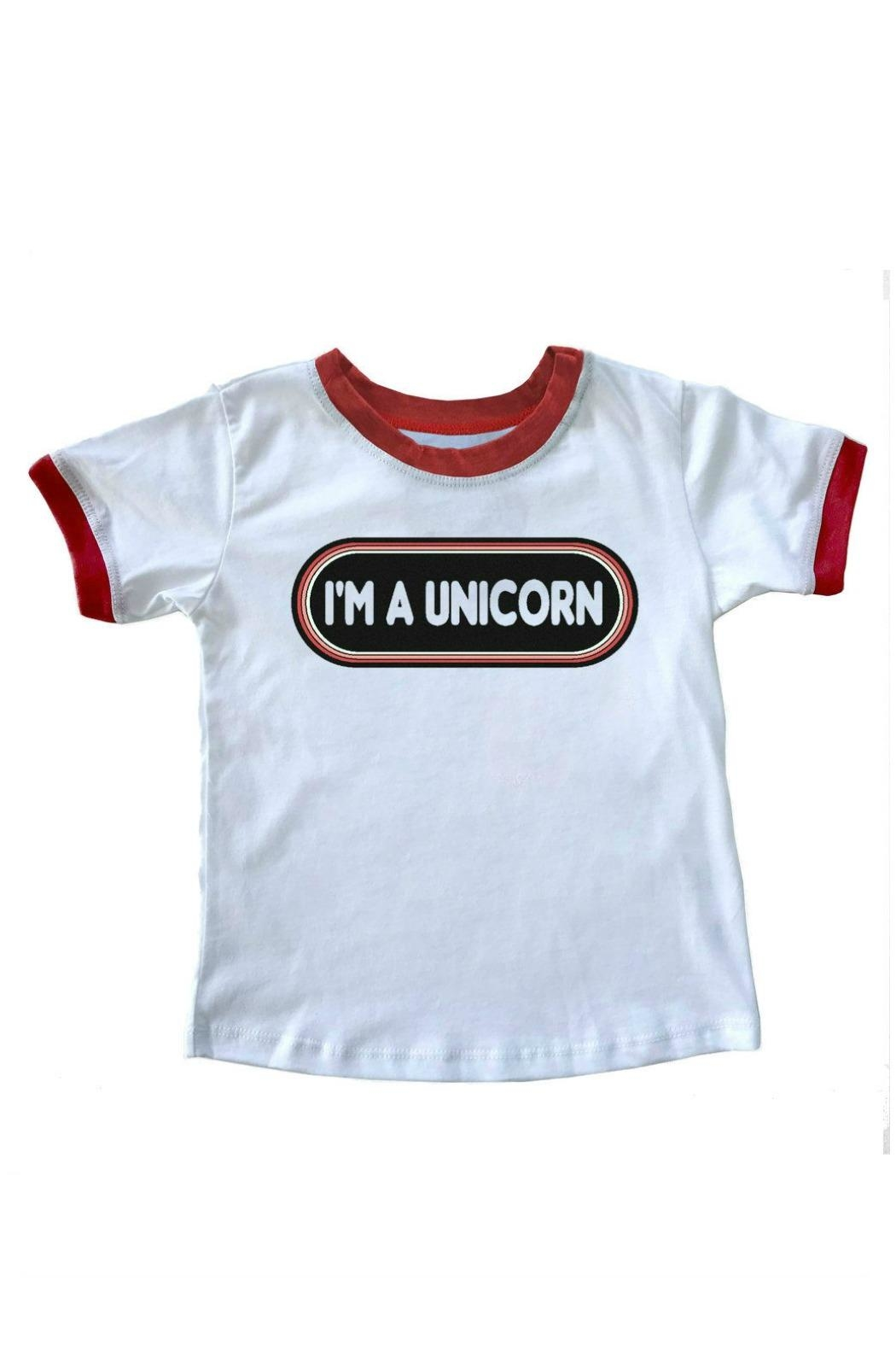 TINY WHALES I'm a Unicorn - Front Cropped Image