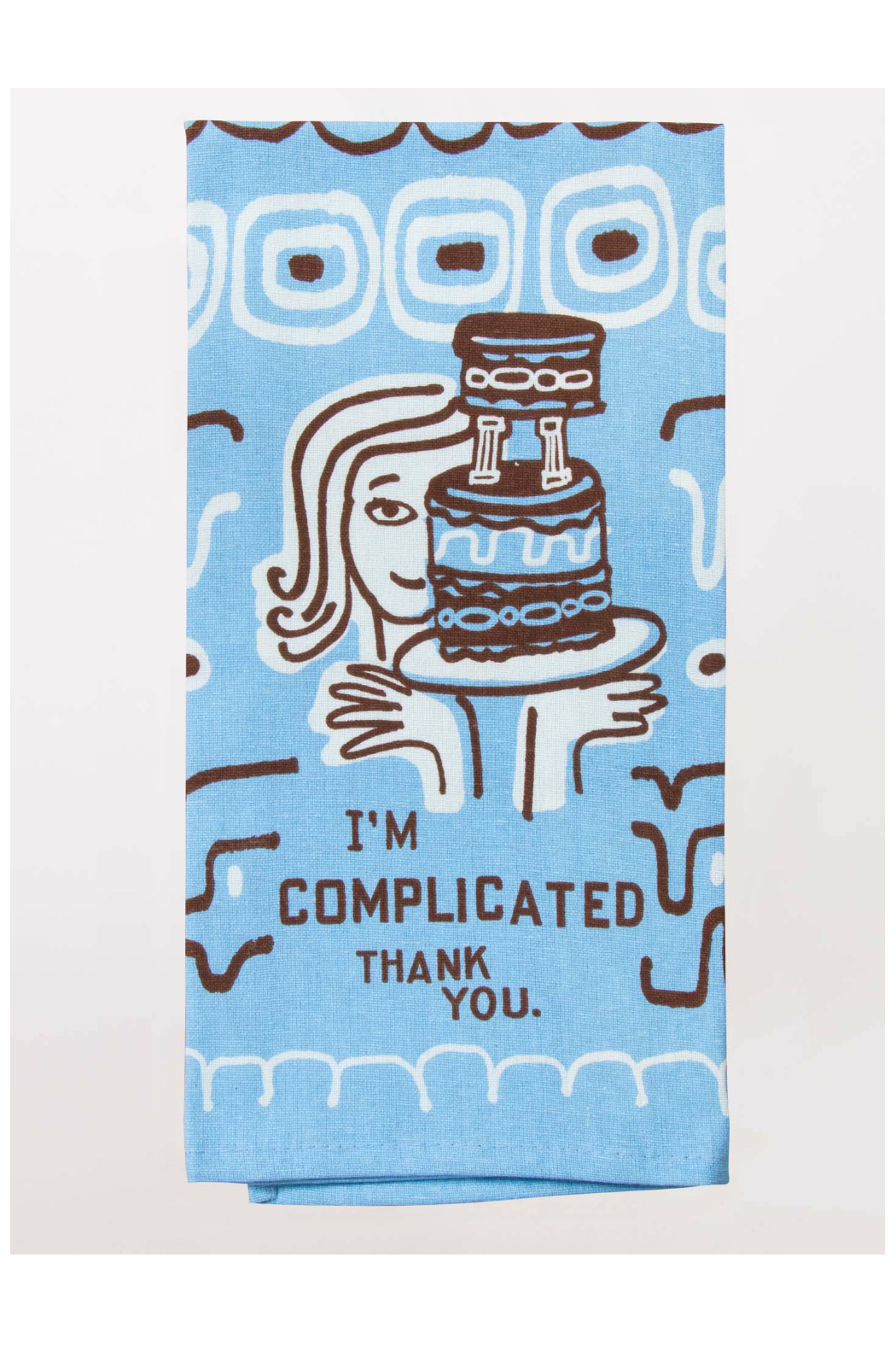 Blue Q I'm Complicated Dish Towel - Main Image