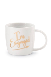 MUDPIE I'm Engaged Cup - Front full body