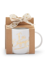 MUDPIE I'm Engaged Cup - Side cropped