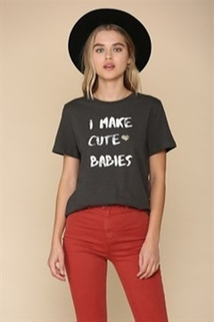 By Together  I make cute babies tee - Product List Image