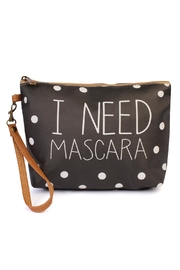 Riah Fashion I-Need-Mascara Cosmetic Bag - Product Mini Image
