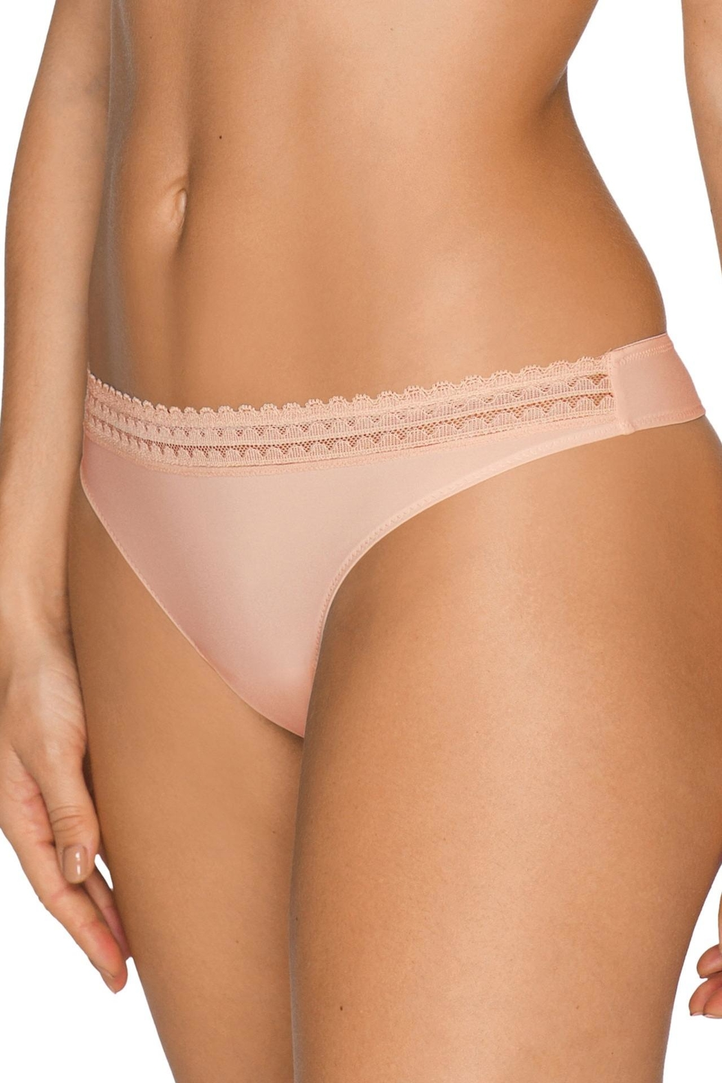 Prima Donna I-Want-You Thong - Front Full Image