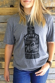 Mason Jar Label I would rather be.... - Front full body