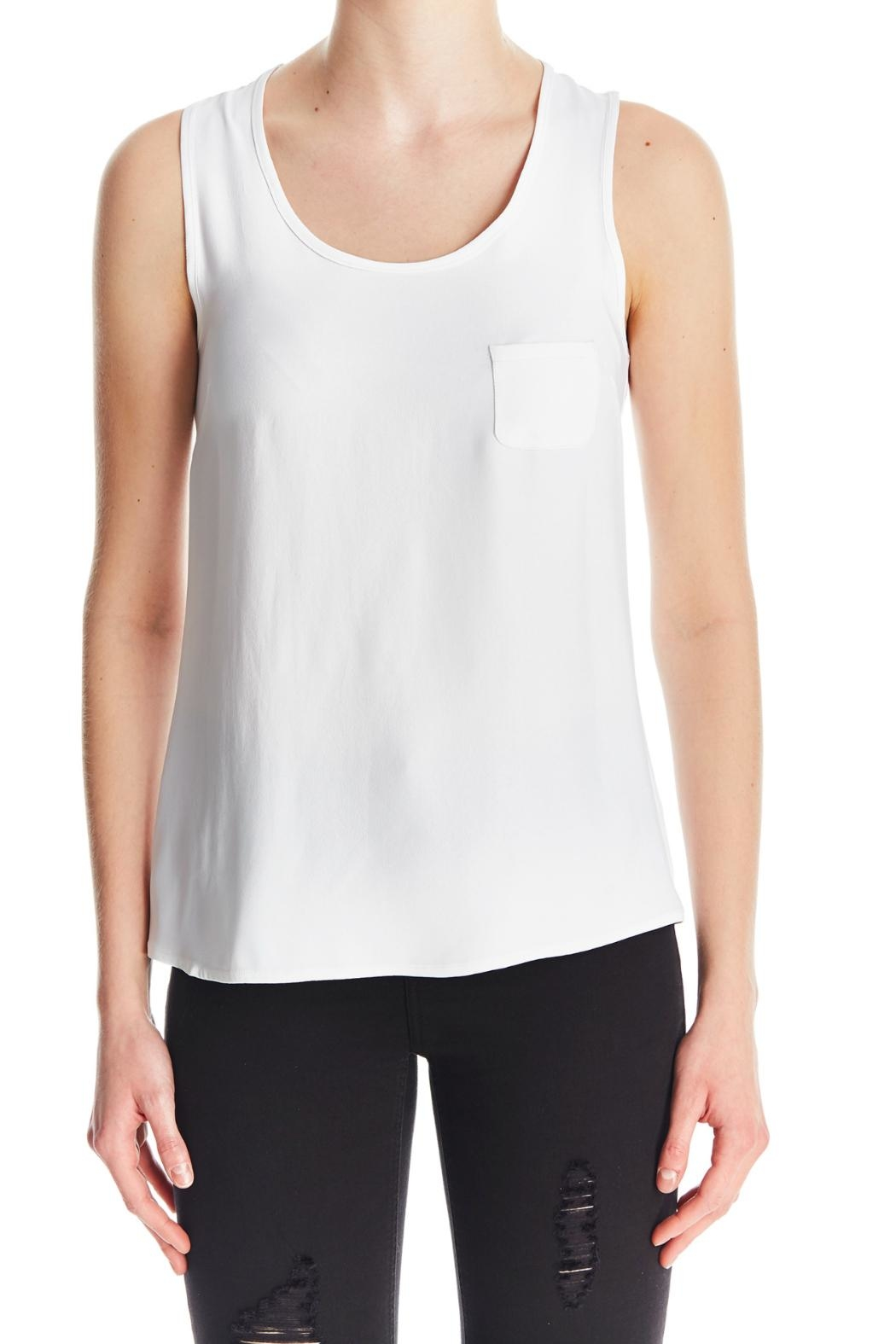 I Heart Tyler Madison Flared Hem Tank - Front Cropped Image