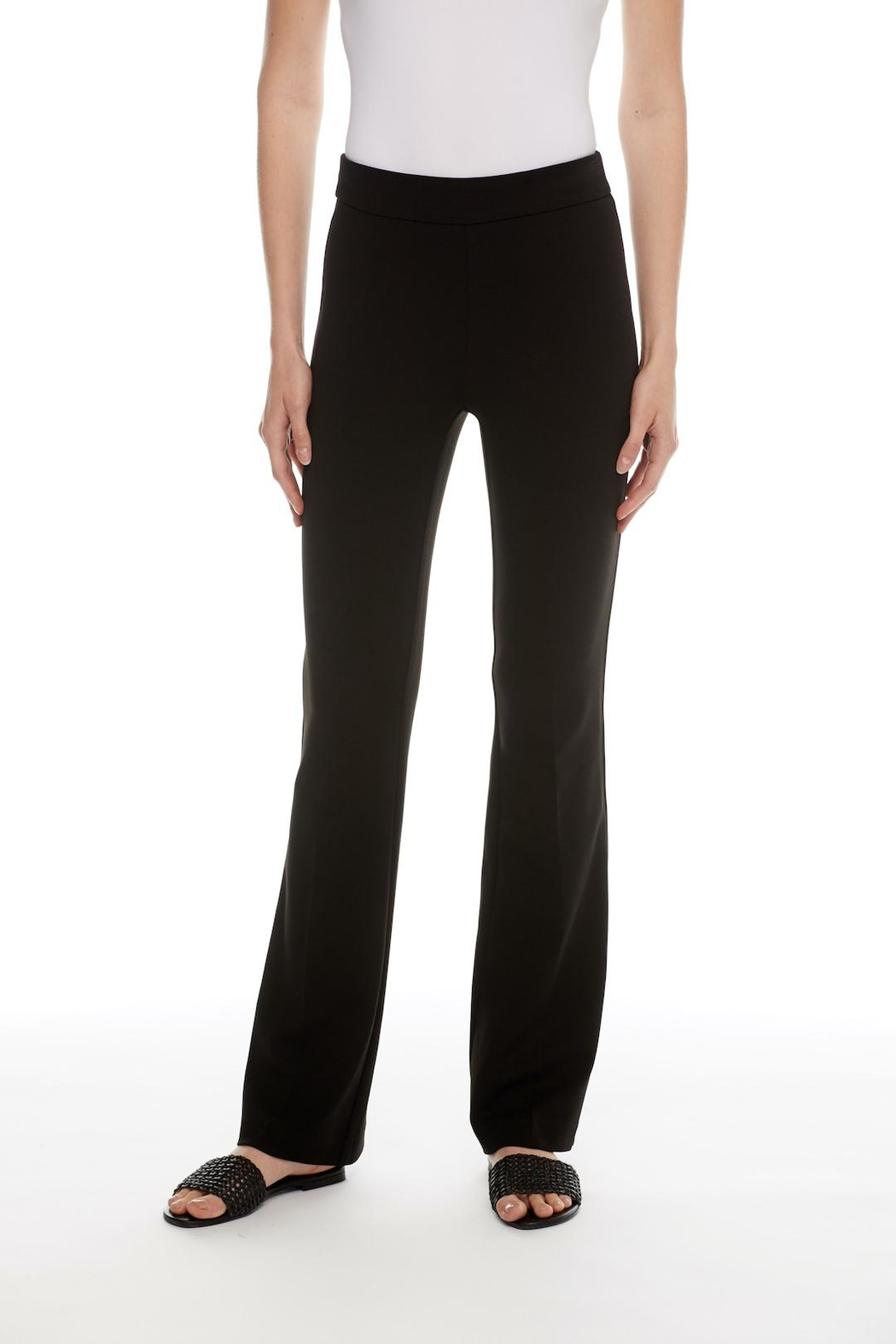 I Love Tyler Madison Reagan Bootcut Trouser - Front Cropped Image