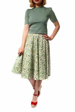 Shoptiques Product: Leaves Circle Skirt