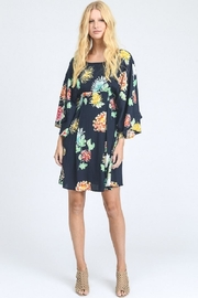 I Madeline Blue Floral Dress - Product Mini Image