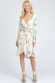 I Madeline Ruffle Floral Dress - Product Mini Image