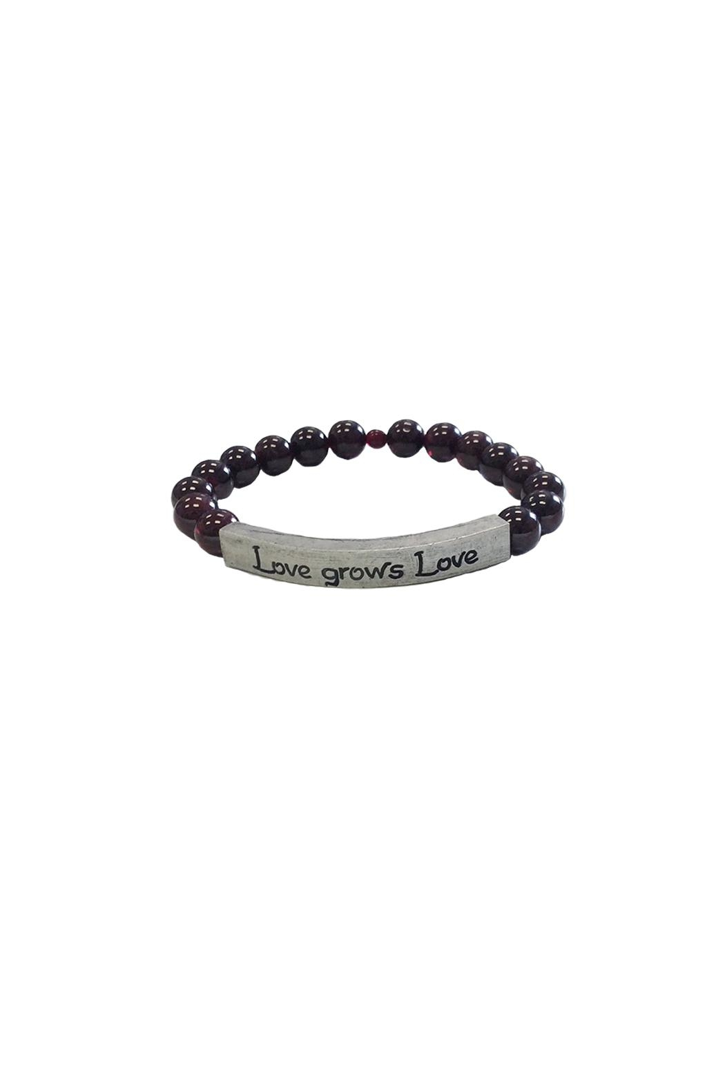 IamTra Beaded Stretch Bracelet - Main Image