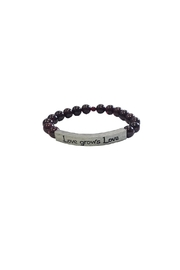 IamTra Beaded Stretch Bracelet - Front cropped