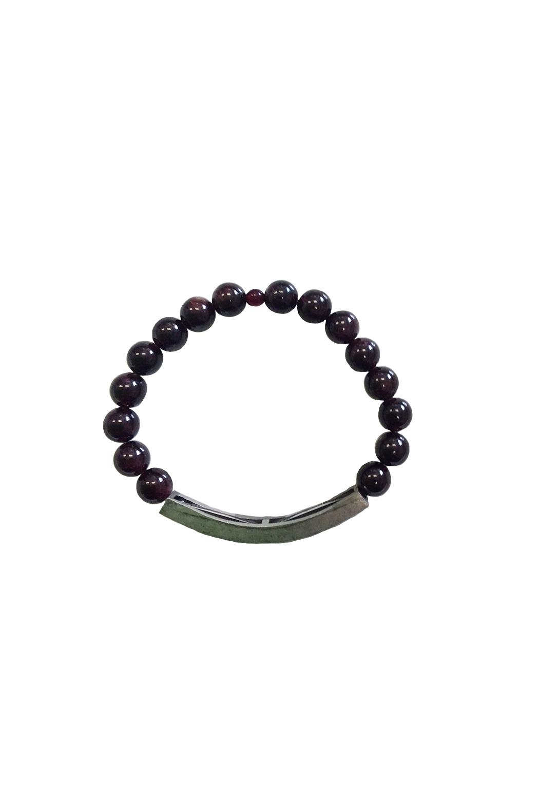 IamTra Beaded Stretch Bracelet - Front Full Image