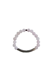 IamTra Rose Quartz Bracelet - Front full body