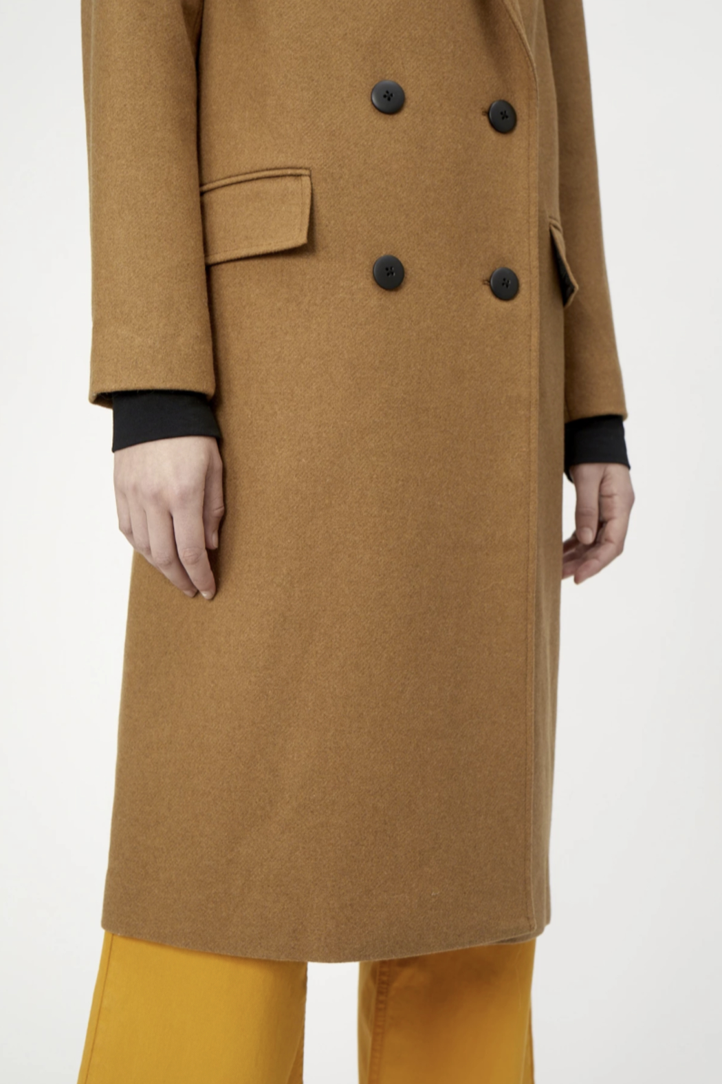 Just Female Ibi Coat - Side Cropped Image